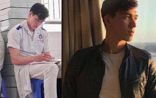 Soái ca ĐH Y Dược Cần Thơ mặc blouse trắng cặm cụi ghi chép khiến dân tình 'mất ăn mất ngủ'
