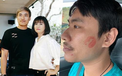 Diễn viên Cát Phượng 'bạo gan' giở trò tình cảm 'cưỡng hôn' tình trẻ ngay trong lúc lái xe!