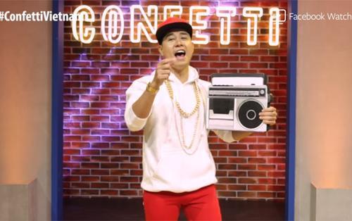 Cộng đồng mạng thích thú khi Nguyên Khang đeo vàng, mặc đồ Hip-Hop trong tập Confetti vừa lên sóng