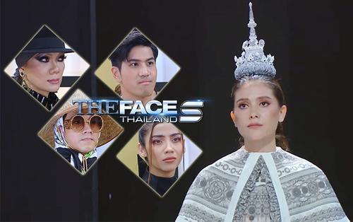 Thắng tập 7 The Face Thái, hoa hậu Maria đội cung điện lên đầu thẳng tay 'báo ân báo oán'
