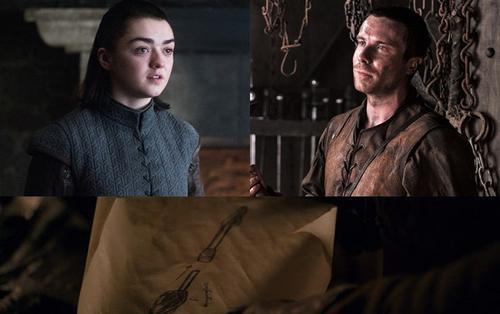 Tập 1 'Trò chơi vương quyền - Game of Thrones' mùa 8: Arya đến cùng là muốn Gendry chế tác thứ gì?