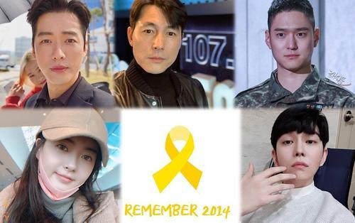 21 diễn viên Hàn tưởng niệm 5 năm thảm họa chìm tàu Sewol làm 304 người thiệt mạng