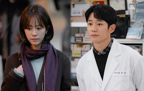 'Spring Night': Thua kém 6 tuổi, Jung Hae In bỗng 'dừ' hơn chị đẹp Han Ji Min