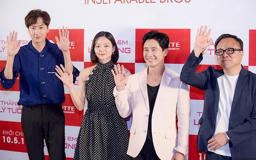 Shin Ha Kyun lịch thiệp, Lee Kwang Soo siêu đáng yêu, Esom ấn tượng với lượng fan hùng hậu của 'hươu cao cổ' ở Việt Nam