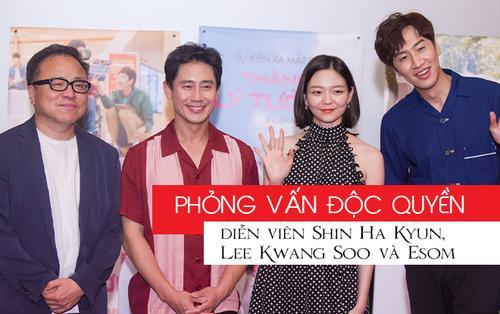 Phỏng vấn độc quyền: Lee Kwang Soo muốn thử đóng phim kinh dị, Shin Ha Kyun được chọn vì lý do này