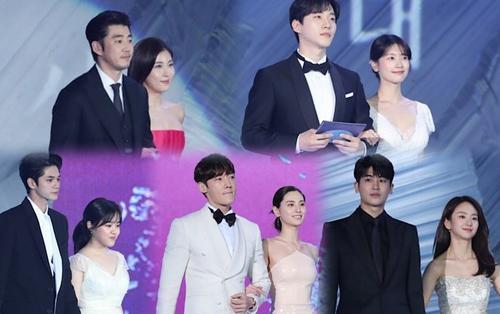 Sân khấu 'Baeksang 2019': Ha Ji Won khoe vòng 1 khủng, Ong Seong Woo - Park Hyung Sik bảnh trai