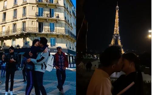 Đang hôn nhau say đắm, Trấn Thành và Hari Won bất ngờ bị 'phá đám'