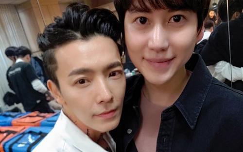Kyuhyun (Super Junior) xuất ngũ, Donghae đăng tải hình ảnh đầy cảm xúc: 'Mình lại về bên nhau thôi nhé!'