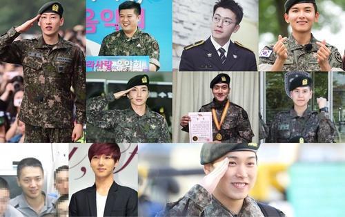 Đón Kyuhyun xuất ngũ, fan đào mộ loạt ảnh trong quân đội của tất cả thành viên Super Junior