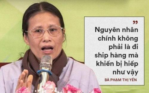 Bà Phạm Thị Yến 'tái xuất' đăng đàn thuyết giảng, vẫn chưa lên xin lỗi gia đình cô gái giao gà bị sát hại
