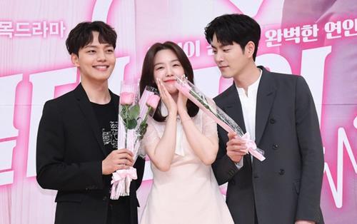 Họp báo 'Absolute Boyfriend': Yeo Jin Goo rạng rỡ, Minah (Girl's Day) - Hong Jong Hyun thân mật quá mức