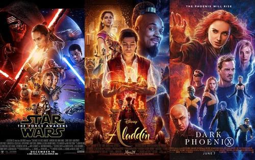 Có một chủ đề quen thuộc xuất hiện trong 3 tấm poster 'Star Wars: The Force Awakens', 'Aladdin' và 'Dark Phoenix' của Disney?