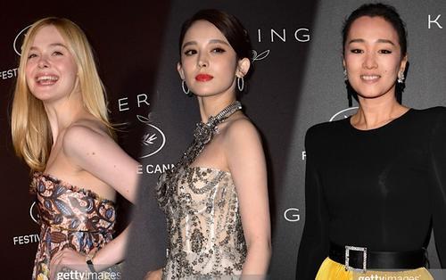 LHP Cannes 2019 ngày 6: Cổ Lực Na Trát đọ sắc Elle Fanning và Củng Lợi tại lễ trao giải 'Women In Motion'