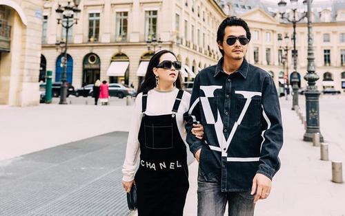Quách Ngọc Ngoan khoe ảnh ngọt ngào bên 'máy bay bà già' Phượng Chanel ở Paris