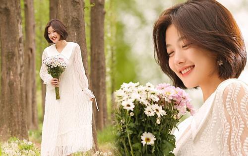 Kim Yoo Jung đẹp tựa nữ thần trong bộ ảnh MV 'Begin Again' của Kim Jae Hwan