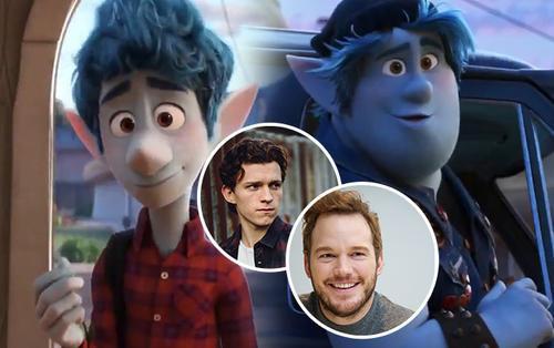 Hậu Endgame, Chris Pratt & Tom Holland hóa yêu tinh tinh nghịch trong phim hoạt hình 'Onward' của Pixar