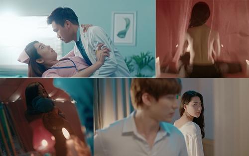 'Bệnh viện thần ái' tung trailer: Xuân Nghị liên tục thả thính Thúy Ngân trong phim cung đấu phiên bản y tá