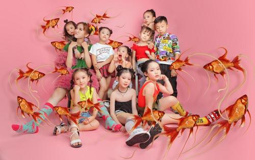 Nhật Hà chụp ảnh cùng các 'thiên thần nhỏ' lên án nạn xâm hại trẻ em nhân ngày 1/6
