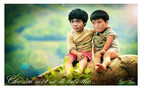 Công Phượng và dàn sao Việt Nam hài hước trong bộ ảnh tuổi thơ