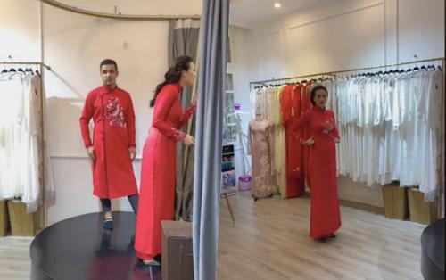Rộ tin đồn siêu mẫu Phương Mai bầu bí trước khi cưới?