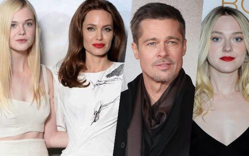 Cặp chị em nhà Fanning: Người kết hợp với Angelina Jolie, người tái xuất cùng Brad Pitt