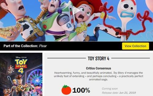 Bộ phim Toy Story 4 đạt điểm tuyệt đối trên thang điểm Rotten Tomatoes: Liệu đây có phải là phần cuối?