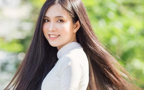 'Bản sao Ngọc Trinh' sở hữu mái tóc nhìn là mê, đạt nhiều thành tích thi sắc đẹp