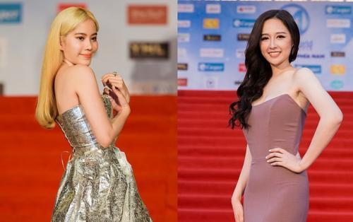 Diện váy ôm sát rạt, Hoa hậu Mai Phương Thúy oanh tạc thảm đỏ khiến Tiểu Vy, Mỹ Linh 'nép mình'