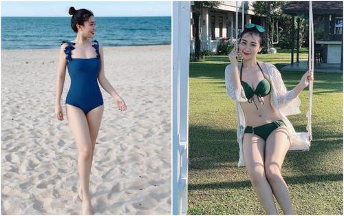 Loạt ảnh bikini xinh đẹp của nữ giảng viên Nghệ An khiến người ta không tin đây là 'bà mẹ 2 con'