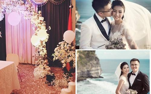 Chia sẻ bức ảnh, Ngọc Hân khiến nhiều người nghi ngờ rằng đã tổ chức lễ đính hôn