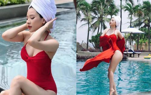 Vợ cũ Hồ Quang Hiếu tái xuất sau trầm cảm hôn nhân, hở bạo và khoe body siêu nóng bỏng