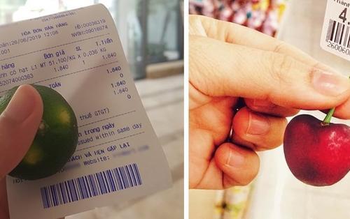 Sau vụ thanh niên vào siêu thị mua một quả vải, giới trẻ đua nhau trào lưu mua đúng một quả khiến nhiều người lắc đầu ngao ngán