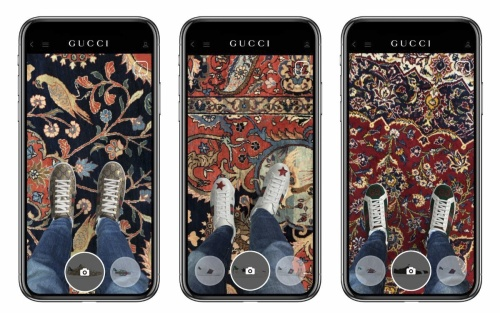 Giới mộ điệu đã có thể thử giày ngay trên ứng dụng của nhà mốt sang chảnh Gucci