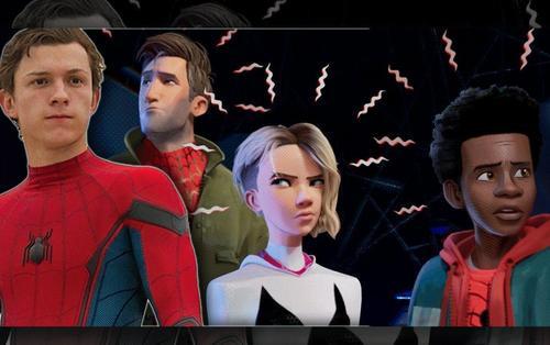 Tom Holland tiếc hùi hụi vì mất cơ hội xuất hiện trong 'Spider-Man Into the Spider-Verse'