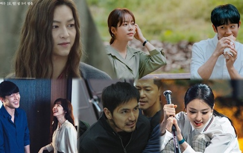 BXH diễn viên - phim Hàn cuối tháng 6: Mặc tin ly hôn Song Hye Kyo, phim của Song Joong Ki và Han Ji Min đứng đầu
