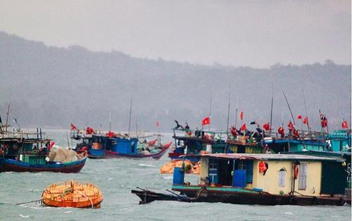 Ảnh hưởng của bão số 2, hơn 1600 khách du lịch 'mắc kẹt' trên đảo Cô Tô