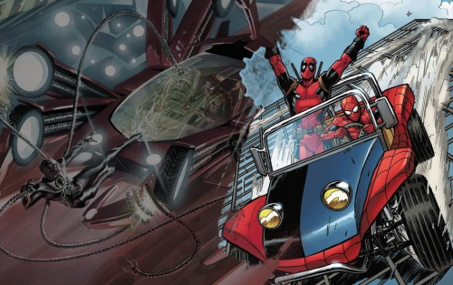 Spider-Mobile - Siêu xe của siêu nhện