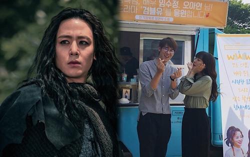 Yoo Yeon Seok đích thân đến trường quay thăm Im Soo Jung, Nichkhun (2PM) lộ tạo hình trong phim của Song Joong Ki