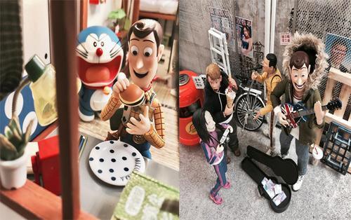 Hậu Toy Story 4: Woody quẩy tung chảo trong loạt ảnh fan made nhây nhớt