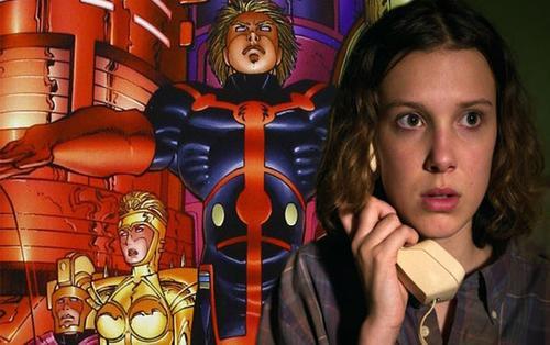 Marvel đang có ý định chọn Millie Bobby Brown cho nhóm The Eternals