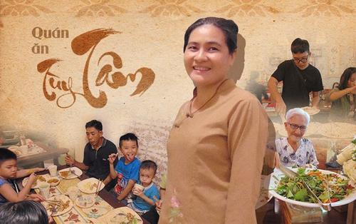 Quán buffet chay tùy tâm giữa lòng Sài Gòn: Khách đến ăn vui thì trả tiền, nếu không cũng chẳng sao