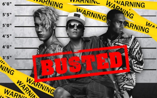 Bạn đã tỏ tường những nghệ sĩ US-UK đã bị bắt giữ vì phạm tội trong những năm qua?
