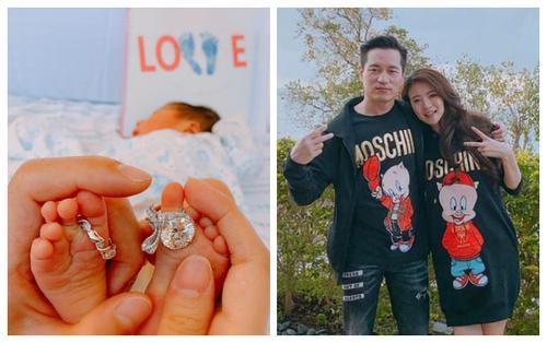 Vợ chồng 'Triệu Mẫn' An Dĩ Hiên đón chào con trai đầu lòng sau 2 năm kết hôn