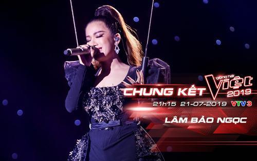 Chung kết The Voice 2019: Lâm Bảo Ngọc 'xiếc treo người' vẫn hát live hit Sam Smith 'chuẩn' như thu âm!