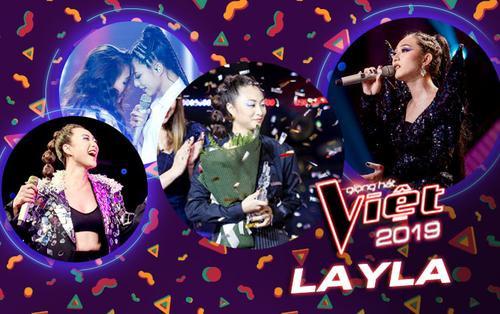 Á quân The Voice 2019 - Layla: 'Chắc chắn sẽ bùng phát hết khả năng và không để khán giả thất vọng'