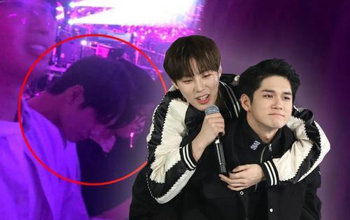 Ấm lòng anh em Wanna One: Fan phát hiện Ong Seong Wu đến cổ vũ concert solo của Ha Sungwoon