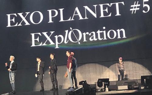 Dở khóc dở cười: Concert EXO bất ngờ xuất hiện chú chuột và đây là phản ứng thú vị của các thành viên