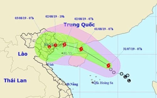 Áp thấp nhiệt đới mạnh lên thành bão, đổ bộ các tỉnh từ Quảng Ninh - Nam Định