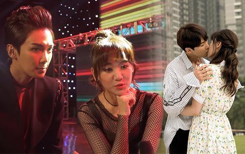 Mỹ nam Park Jung Min và Hari Won nói gì về cảnh hậu trường nóng bỏng nhất trong phim điện ảnh 'Oppa, phiền quá nha'