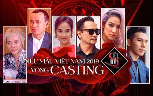 Dàn giám khảo 'khủng' xuất hiện quyền lực tại ngày cuối casting Siêu mẫu Việt Nam 2019